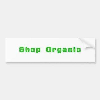Shop Organic Bumpersticker Bumper Sticker
