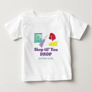 Shop Til Drop Baby T-Shirt