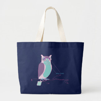 shop wisely large tote bag
