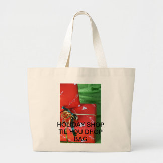 Shop you drop large tote bag