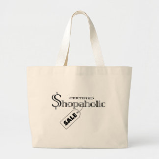 Shopaholic Large Tote Bag