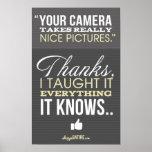 Shoppe Satire - Humour for Photographers Print
