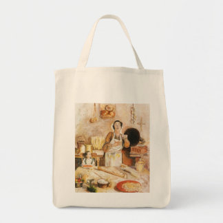 """Shopping bag, """"Grandma's Kitchen"""" Tote Bag"""