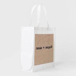 shopping bag reuse recycle market totes