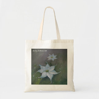 Shopping bag with pretty painting