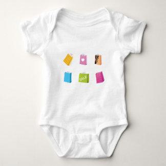 SHOPPING BAGS BABY BODYSUIT