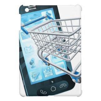 Shopping cart mobile phone iPad mini covers