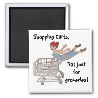 Shopping Carts Magnet