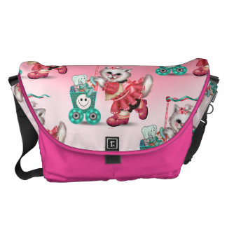 SHOPPING CAT 2 Rickshaw LARGE Zero Messenger Bag