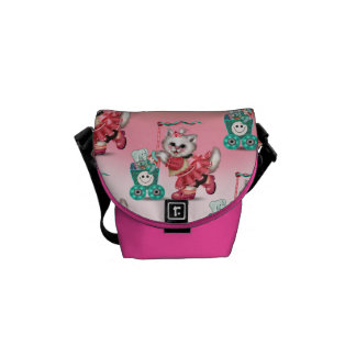 SHOPPING CAT 2 Rickshaw MINI Zero Messenger Bag