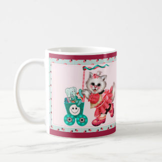 SHOPPING CAT 3 CARTOON Classic Mug 11 onz