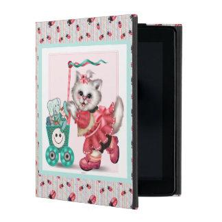 SHOPPING CAT LOVE CUTE iPad 2/3/4 iPad Cover