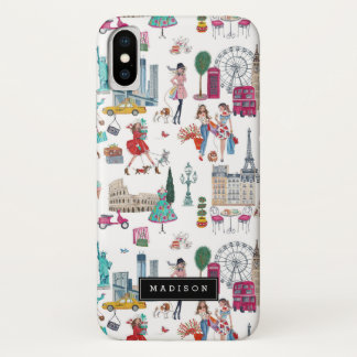 Shopping City Girl | Iphone X Case