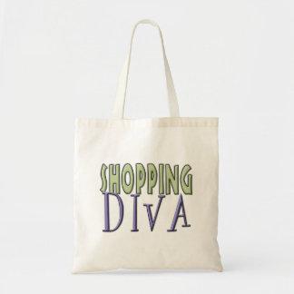Shopping Diva tote