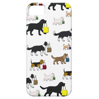 shopping dogs iPhone 5 cover