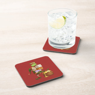 Shopping Elf Coasters