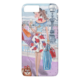 Shopping Fashion Girl Paris | Iphone 7 plus Case