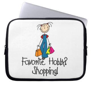 Shopping Favorite Hobby Laptop Sleeve