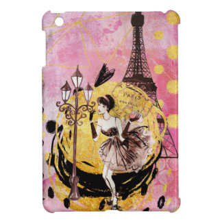 Shopping Girl in Paris Cover For The iPad Mini