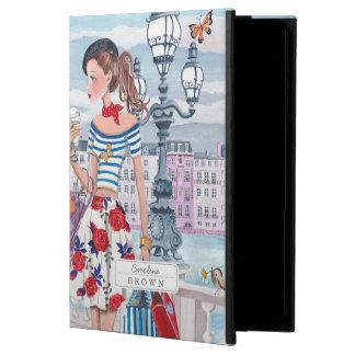 Shopping Girls in Paris City   iPad Air 2 Case