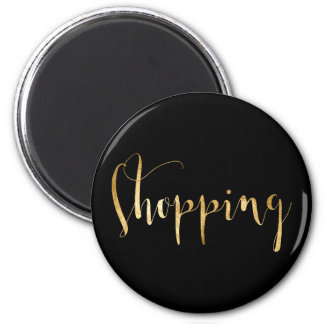 Shopping Gold Black Week Planner Home Office 2 Inch Round Magnet