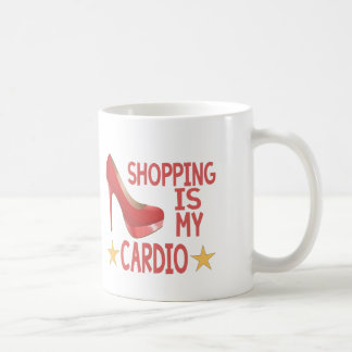 Shopping Is My Cardio 2 Coffee Mug