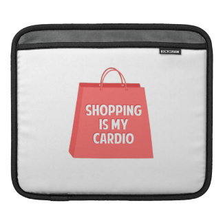 Shopping is my Cardio iPad Sleeve