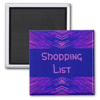 Shopping List Holder Magnet