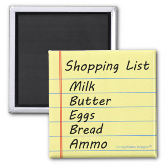 Shopping List - The Essentials Magnet