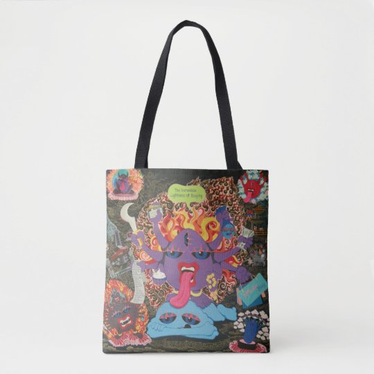 Shopping Mandala Tote