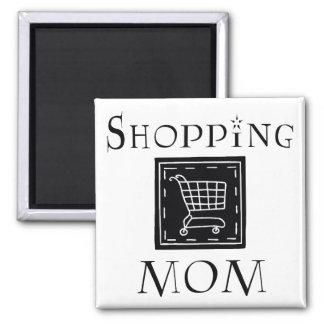 Shopping Mom Refrigerator Magnets