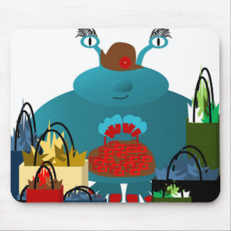 Shopping. Mouse Pad