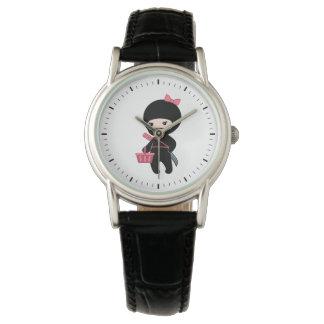 Shopping Ninja Girl Watch