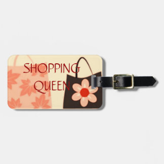 SHOPPING QUEEN COLLECTION LUGGAGE TAG