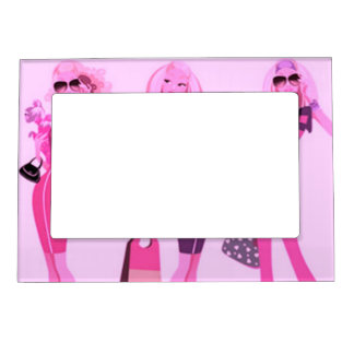 SHOPPING QUEEN COLLECTION MAGNETIC PICTURE FRAME