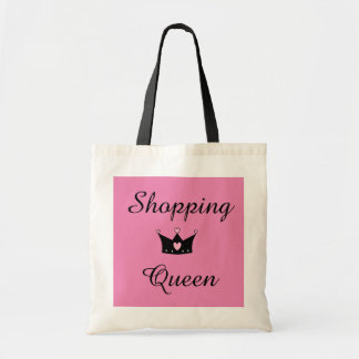 Shopping Queen Tote Budget Tote Bag