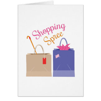 Shopping Spree Card