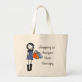 Shopping Therapy Tote Bag