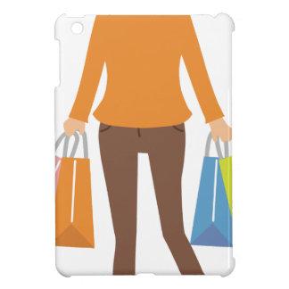 Shopping Woman iPad Mini Cover