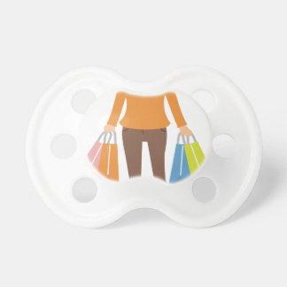 Shopping Woman Pacifier