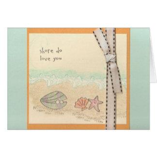 Shore Do Love You Card