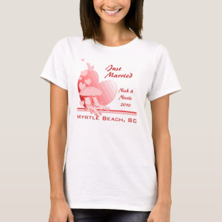 Shore Love/ Tropical Rose T-Shirt