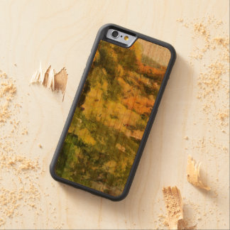 Shore of a small lake carved cherry iPhone 6 bumper case