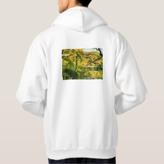 Shore of a small lake hoodie