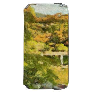 Shore of a small lake incipio watson™ iPhone 6 wallet case