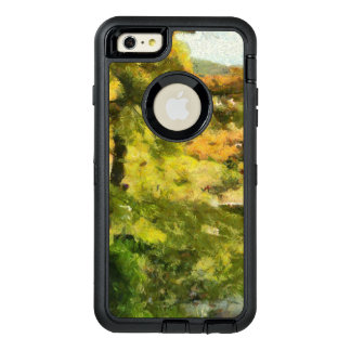 Shore of a small lake OtterBox defender iPhone case