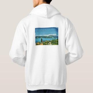 Shore of the lake hoodie