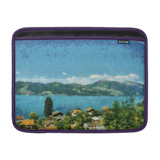 Shore of the lake MacBook sleeve