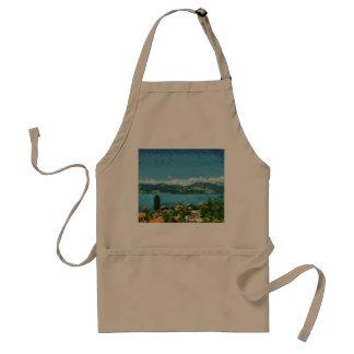 Shore of the lake standard apron