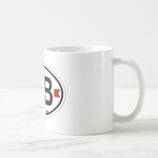 SHORE OVAL ba Coffee Mug